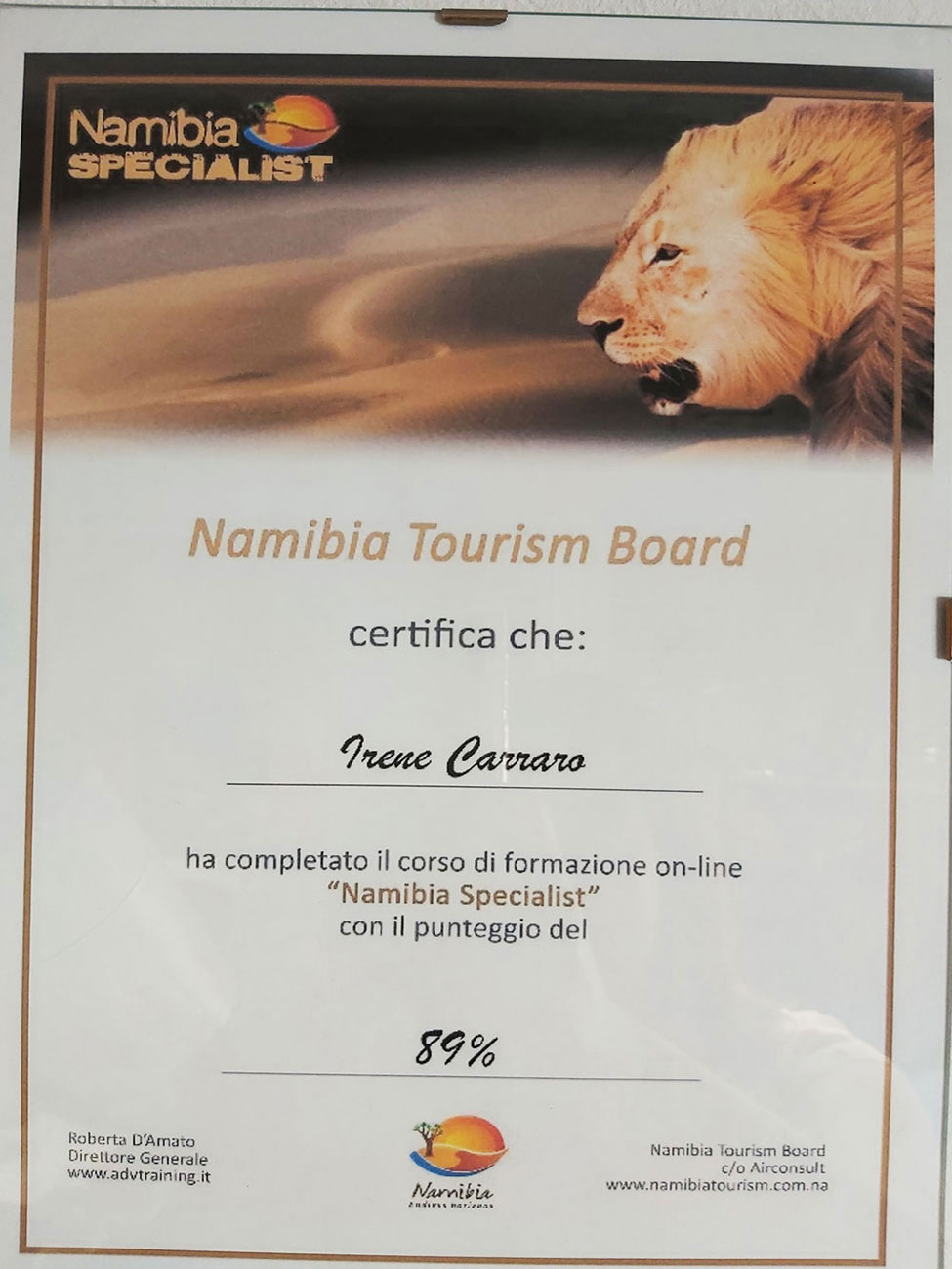 Namibia Specialist