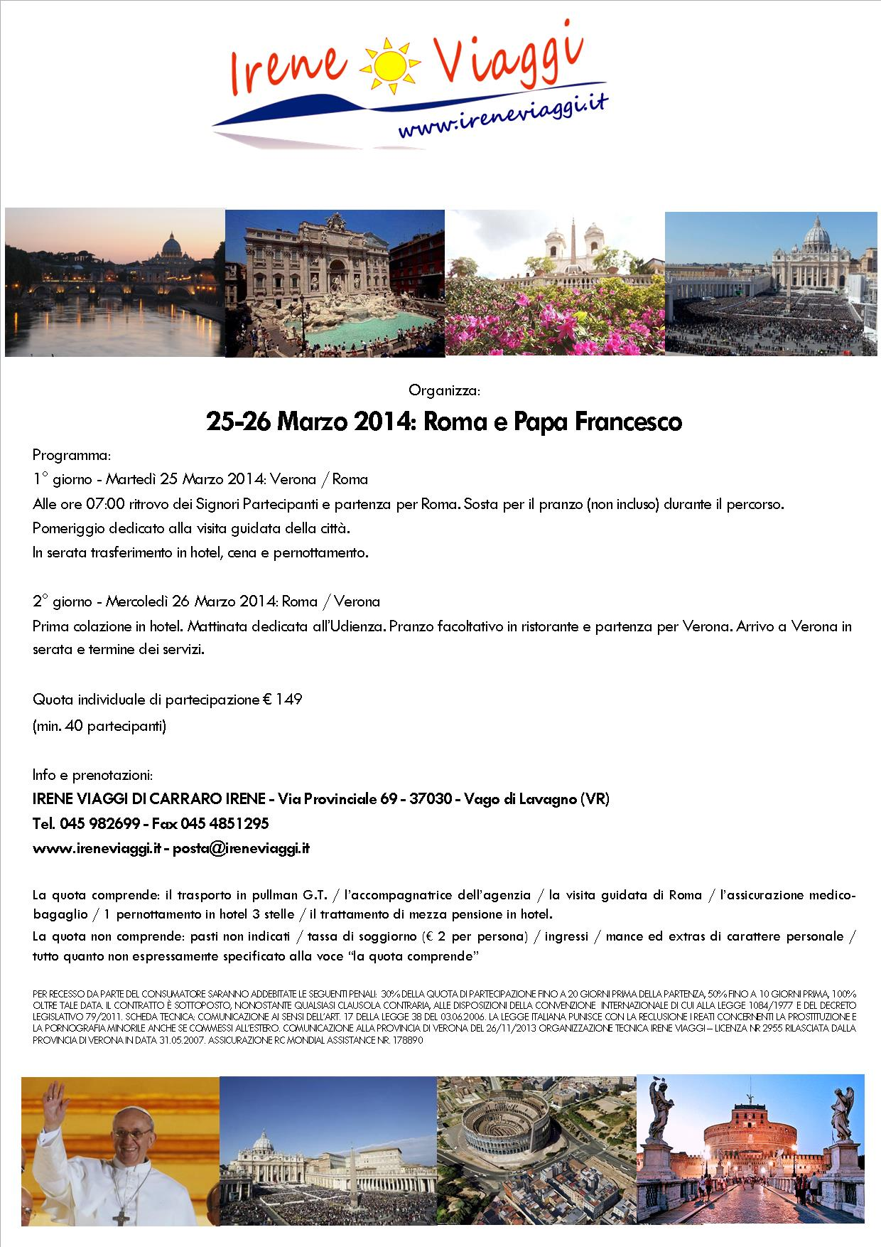 Rome e il papa