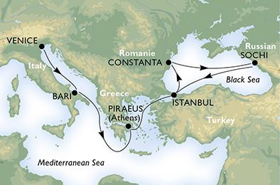 Mar Nero con MSC Opera