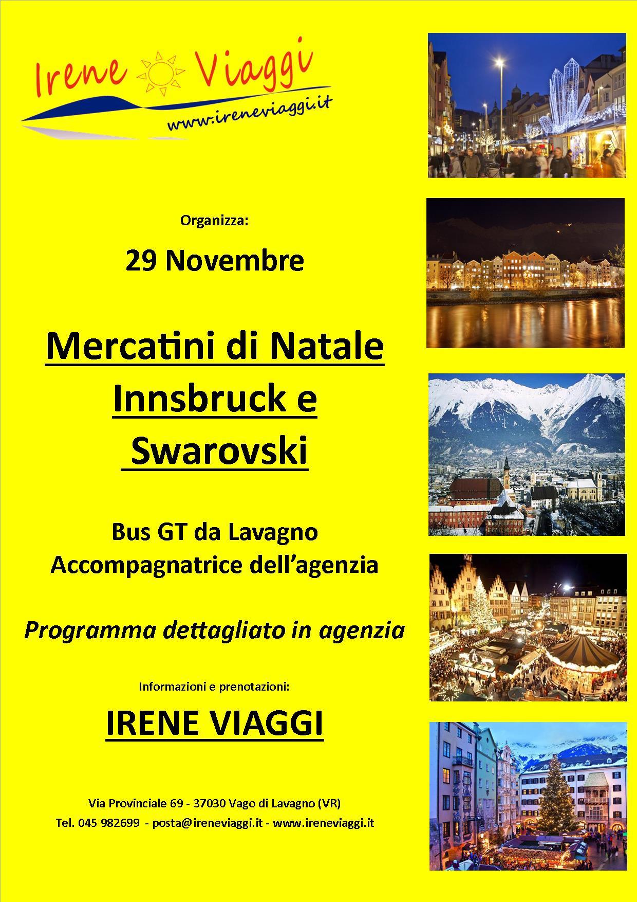 Innsbruck e Swarovski