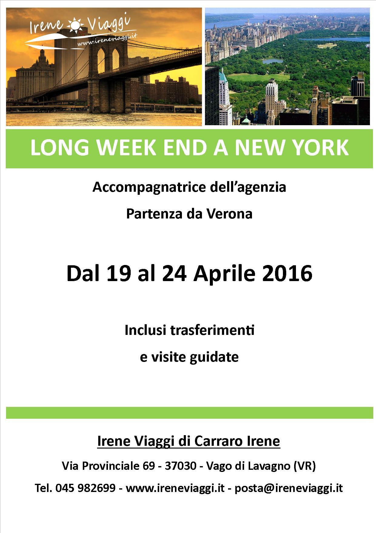 Long Week End a New York
