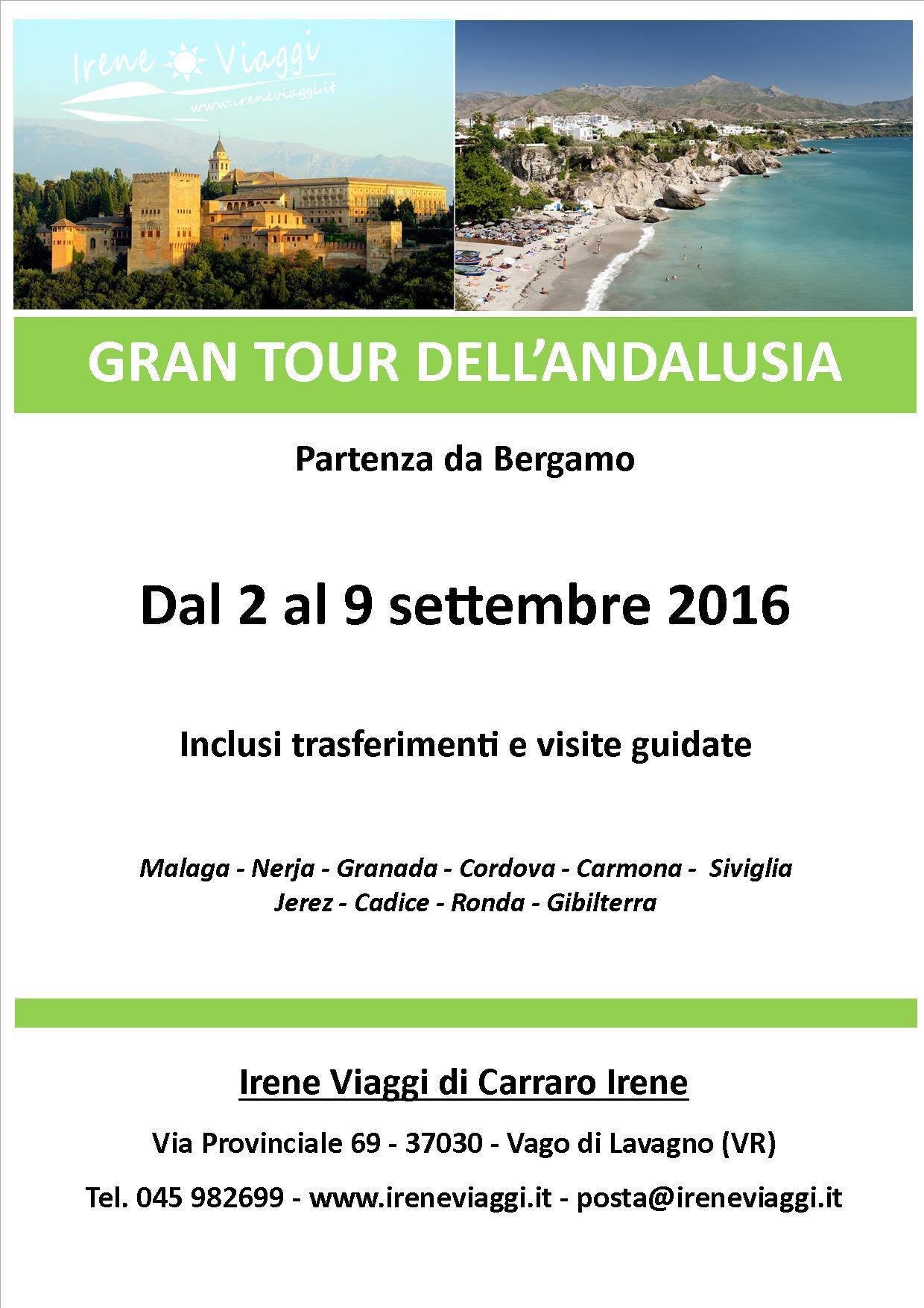 Gran Tour Andalusia