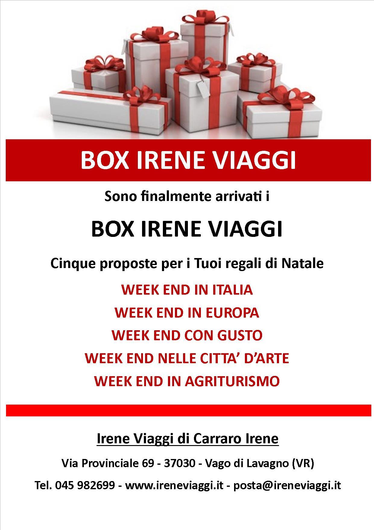 Box Irene Viaggi