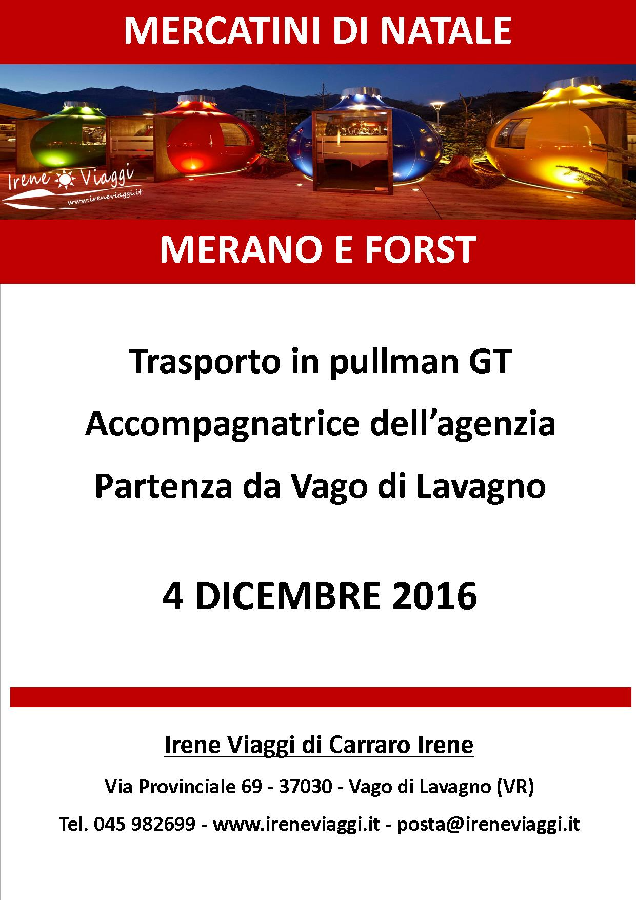 Merano e Forst