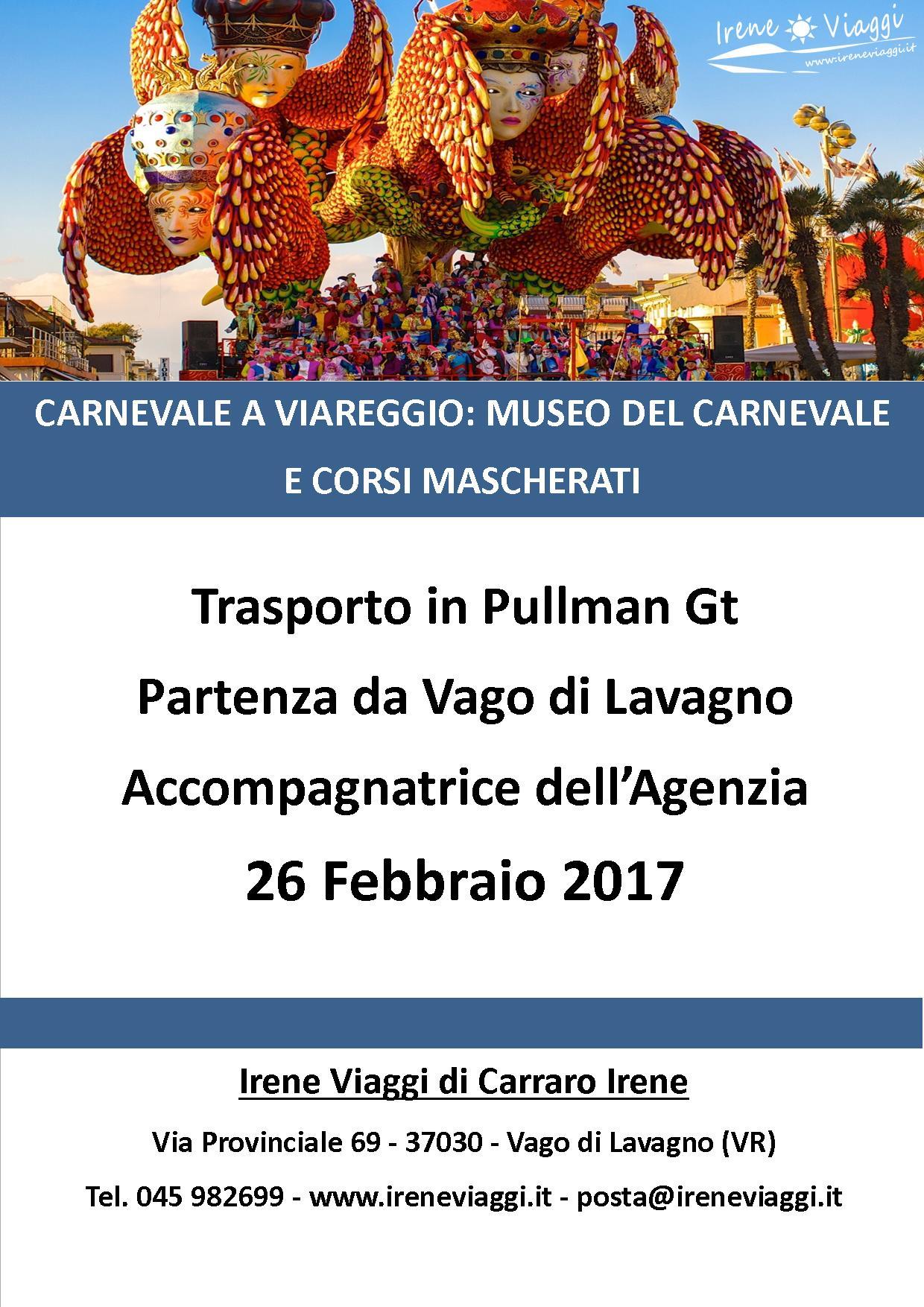 Viareggio: Museo del Carnevale e Carri Mascherati