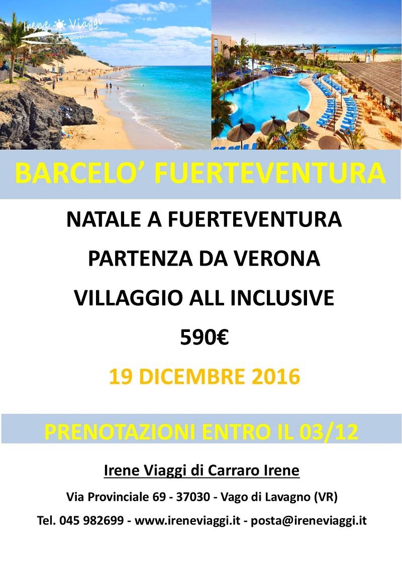 Natale a Fuerteventura - Caleta de Fuste
