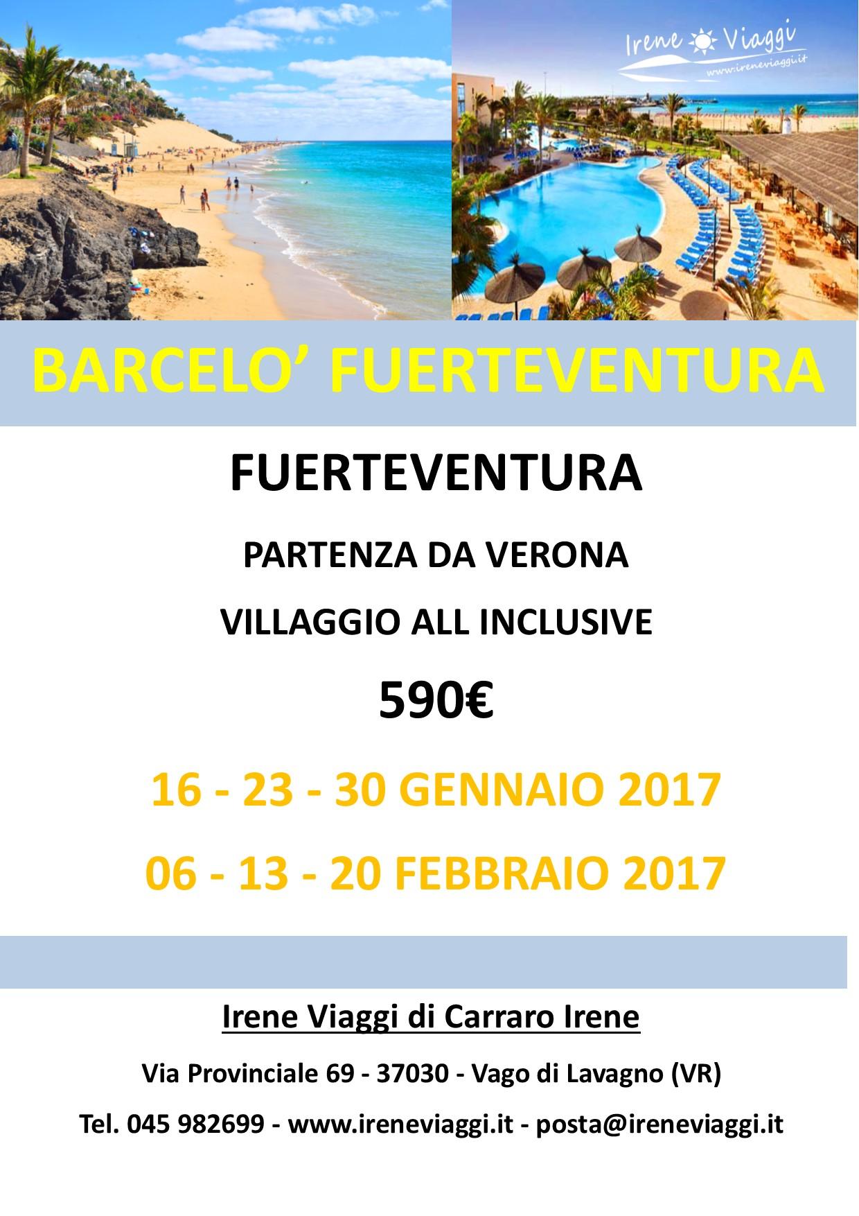 Gennaio a Fuerteventura