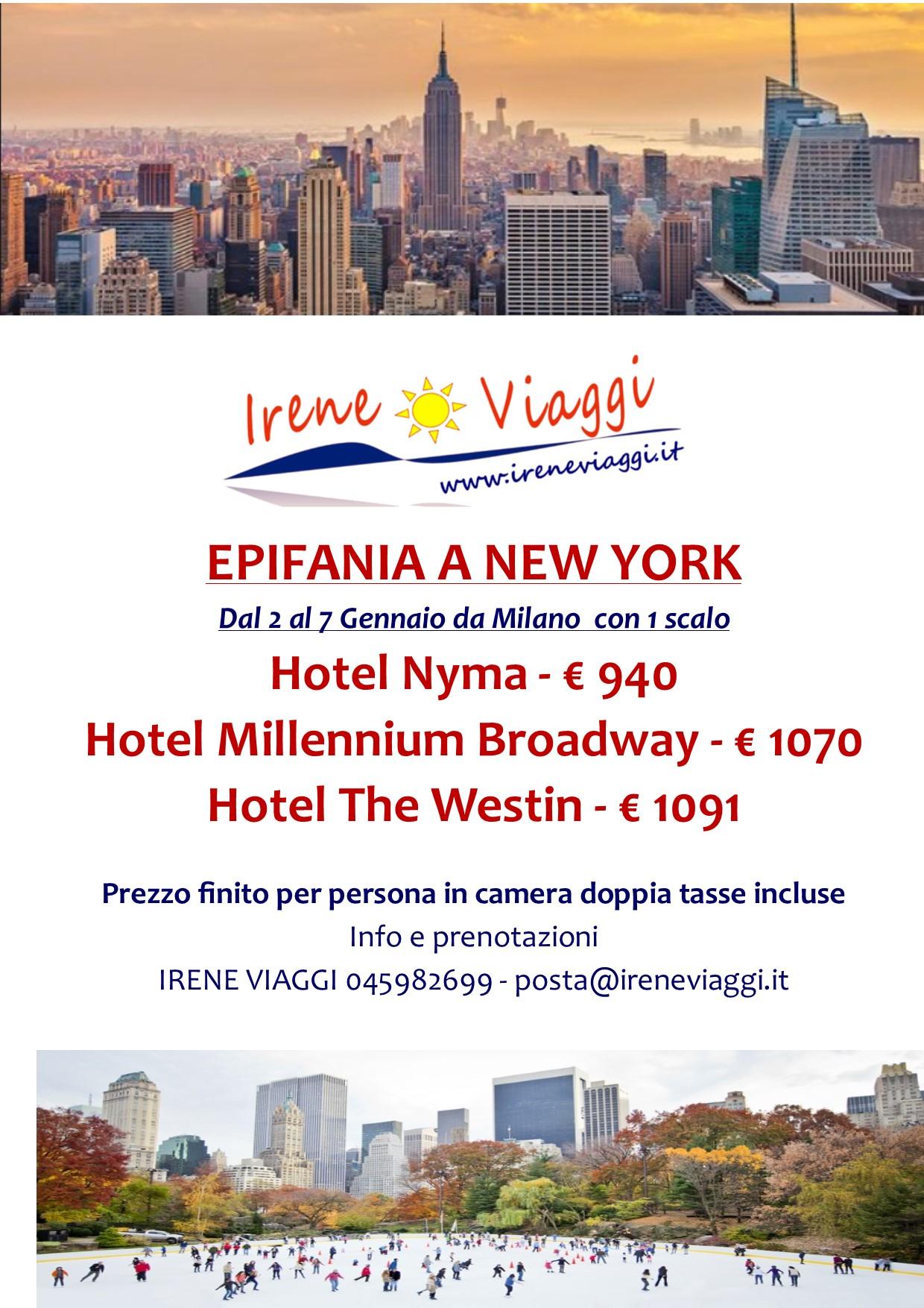 Epifania a New York