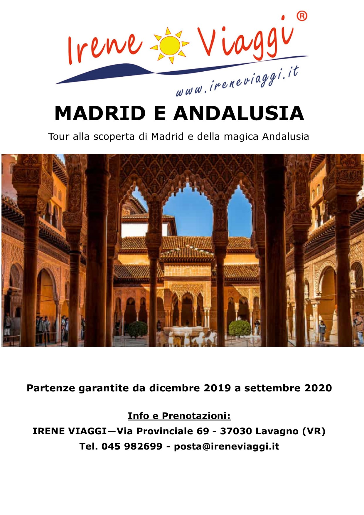 Madrid e Andalusia