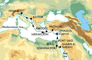 La Grande Crociera del Mar Rosso