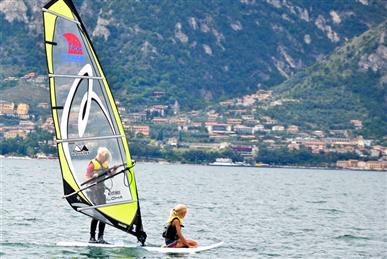 Corso di windsurf