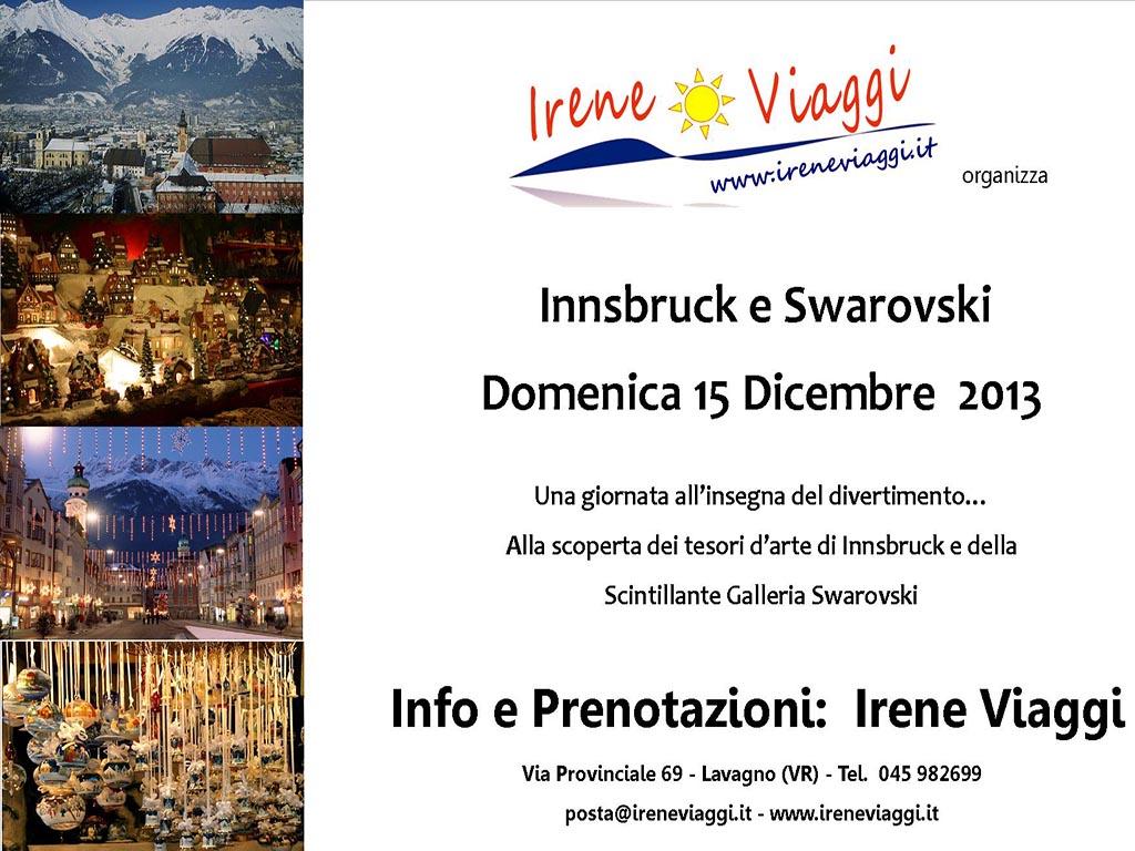 Mercatini di Natale Innsbruck e Swarovski