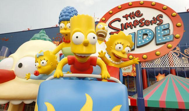 Arriva il parco divertimenti dei Simpson